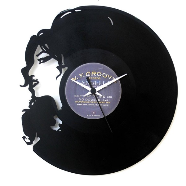 Amy Winehouse- Vinyl Clock